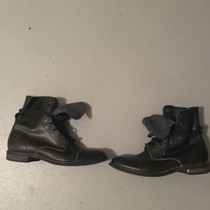 Urban Outfitters Black Combat Boots